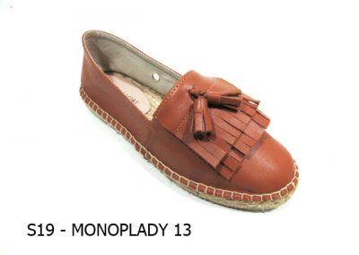 S19 - MONOPLADY 13 - Tan