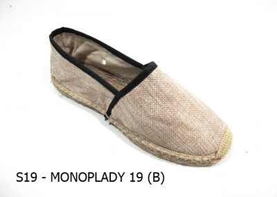 S19 - MONOPLADY 19 (B) - Natural Black