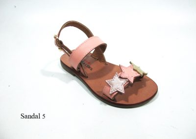 Sandal 5 - Gold desty coral