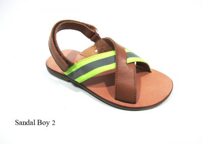 Sandal Boy 2 - Neon D Brown